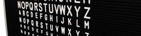Lavagna da Lettere